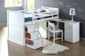 lit surélevé avec bureau lit mezzanine avec bureau et rangement meetharry co