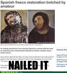 Fresco Jesus Meme - jesus why you hava the dead eyes and the large rounda monkey face