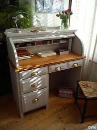 Small Roll Top Computer Desk Small Rolltop Desk Shabby Search Home Pinterest