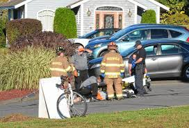 police respond to crash between car cyclist in greenfield