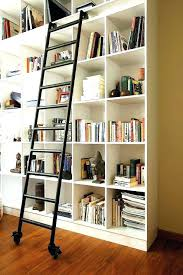 Lyss 5 Tier Corner Ladder by Bookshelves With Ladders Medium Size Of Lyss 5 Tier Corner Ladder