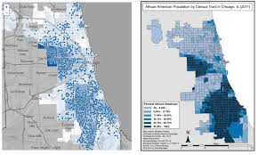 Chicago Neighborhood Map Connecting The Dots In Chicago Most 2015 Shootings In Black