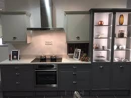 magnet kitchens ex display newbury grey u0026 white kitchen in