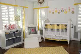 Yellow And Grey Nursery Decor Grey Baby Nursery Home Design And Decor