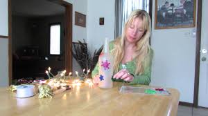 how to frost a lighted bottle inexpensive holiday decorations