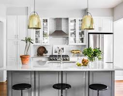 Kitchen Dome Light by Gray Island With Gold Dome Light Pendants Transitional Kitchen