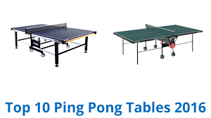 prince challenger table tennis table 10 best ping pong tables 2016 youtube