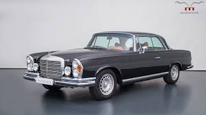 classic mercedes coupe this 1970 mercedes w111 is a gorgeous sleeper restomod rocking an
