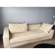 design within reach sofas design within reach havana sleeper sofa bed chairish