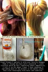 diy at home hair lightening lighten hair naturally with
