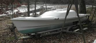 brand new old firefly 26 trimaran looking for a home small