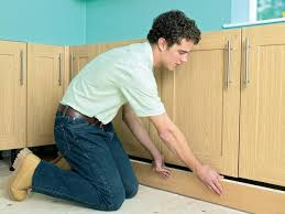 Do You Install Flooring Before Kitchen Cabinets How To Install New Kitchen Cabinets How Tos Diy