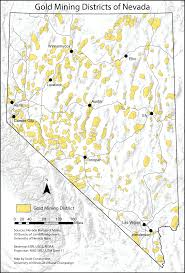Las Vegas Map 2015 by File Gold Mining Districts Of Nevada Png Wikimedia Commons