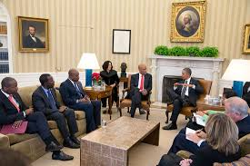 Oval Office Decor By President Enduring Partnership With Haiti Whitehouse Gov