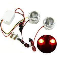 led strobe lights for motorcycles 2018 dc 12v red led flash strobe light brake l decor for