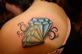 diamond tattoos ideas meanings and designs tatring