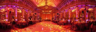 Red And Gold Reception Decoration Beautiful Cultural Indian Wedding In New York City Inside Weddings