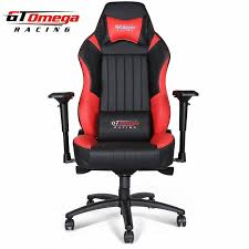 Racer X Chair Gt Omega Evo Xl Racing Office Chair Black And Leather