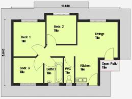 Small 3 Bedroom Cottage Plans 11 Modern 3 Bedroom House Plans And Designs Arts In South Africa