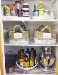 kitchen cabinet labels organized simplicity u2014 client spaces the pantry less kitchen