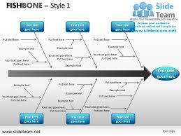 fishbone design 1 powerpoint ppt slides