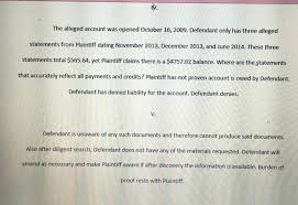 Authorization Letter For Proof Of Billing For Credit Card Sued By Midland Funding Louisiana Page 2 Is There A Lawyer In