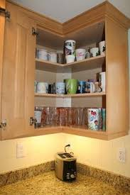 Redecor Your Home Design Ideas With Cool Cute Corner Kitchen - Kitchen wall corner cabinet