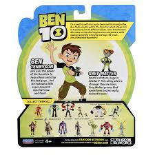 amazon ben 10 ben u0026 grey matter basic figure toys u0026 games
