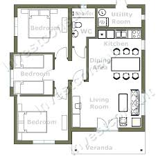 3 bedroom house plans a three bedroom house plan impressive small three endearing small 3
