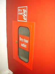 Dry Riser Cabinet High Rise Fire Fighting Dry Risers