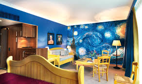 van gogh bedroom painting van gogh bedroom design how cool would this be to paint right