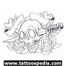 head skull tattoo design tattoomagz