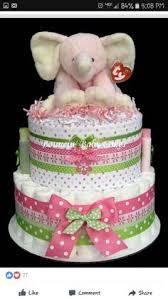 pastel con pañales de patito baby shower pinterest torturi