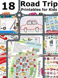 18 road trip printables for traveling with kids totschooling