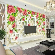 3d home decor design romantic rose photo wallpaper 3d wallpaper bedroom ceiling kid room