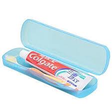 travel toothbrush images 5pcs plastic toothbrush case holder for travel use colour random jpg