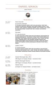 Retail Associate Resume Example by Store Associate Resume Samples Visualcv Resume Samples Database