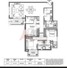 Dlf New Town Heights Floor Plan M3m Merlin Floor Plan Floorplan In