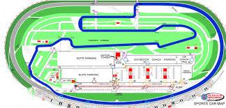 Car Plan View Sports Car Map Auto Club Speedway