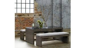 hampton 3 piece dining setting bench set harvey norman