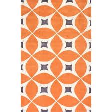 Orange Area Rug Modern Orange Area Rugs Allmodern