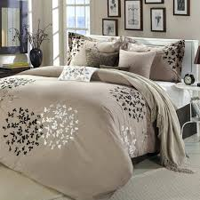 Black And White Tree Comforter Bedroom Dylan Rose Tree Formal Damask Print Luxurious Chocolate