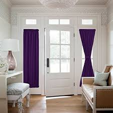 Curtains For Front Doors Front Door Window Curtains Amazon Com
