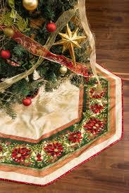 tree skirt free pattern robert kaufman fabric company