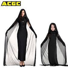 Vampire Halloween Costumes Girls Medieval Ghost Bride Queen Cosplay Costume Witch Vampire Cloak