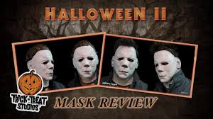 halloween ii michael myers full head and face mask review trick