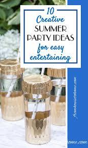 10 creative summer party ideas for easy entertaining