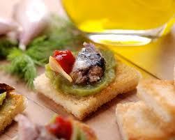 cuisine az com recette tapas à l anchois guacamole et tomate séchée facile rapide