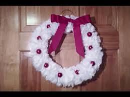diy plastic bag wreath