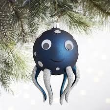 olde world blue or octopus ornament pier 1 imports